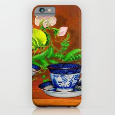 Teacups with Snap Peas Slim Case iPhone 6s