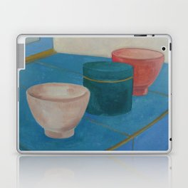 Still life - 3 Cups Laptop & iPad Skin