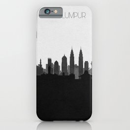 City Skylines: Kuala Lumpur iPhone Case