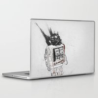 army Laptop & iPad Skins featuring robot army by Tom Kitchen