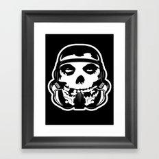 MisFit Trooper Framed Art Print
