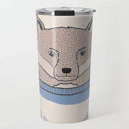 Alpine Adventure - Nigel the Fox Travel Mug