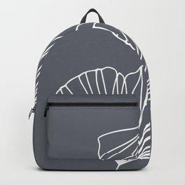 Ginkgo Leaves Grey Backpack