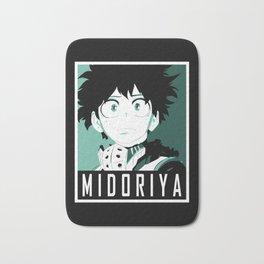 Midoriya Hope Poster V2 Bath Mat