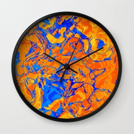 Abstract Design Wall Clock