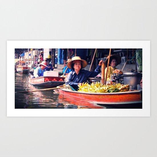 Mercato Art Print
