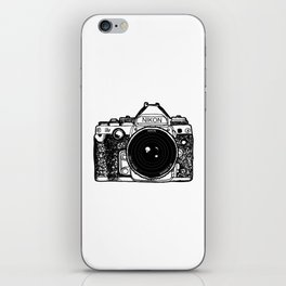 Nikon Camera, Photography, Photo, Canon, Photographer iPhone Skin