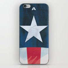 Captain America Minimal iPhone & iPod Skin