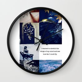 Ravenclaw Aesthetic Wall Clock