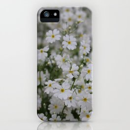 Floating with the wind iPhone Case