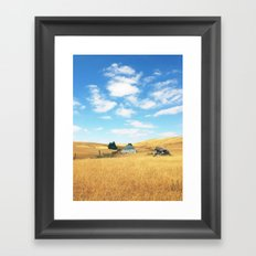 Barn. Framed Art Print