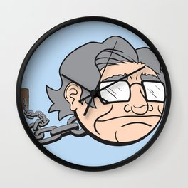 Chain Chompsky - Bizarre Mashup of Noam Chomsky and a Chain Chomp from Super Mario Bros Wall Clock