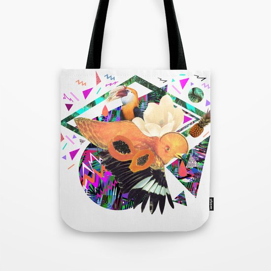 PAPAYA by Carboardcities and Kris tate Tote Bag
