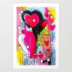 1024 Love Lane Art Print
