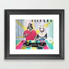 Music Rave Fun Framed Art Print