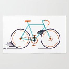 speed bike Rug