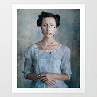 valentina Art Prints featuring Valentina by Maria Kanevskaya