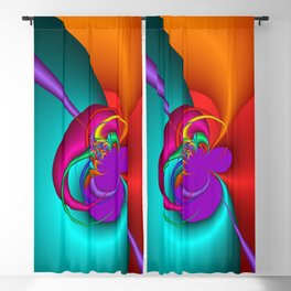 colorful and fractal -102- Blackout Curtain