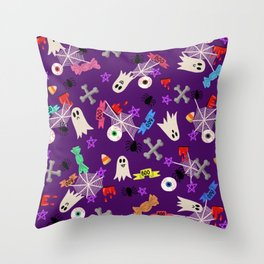 Maybe you're haunted #2 Throw Pillow