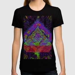 Orange Pyramid Landing T-shirt