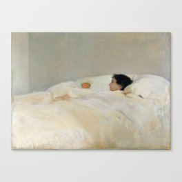 Mother by Joaquin Sorolla, 1895 Canvas Print