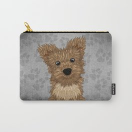 Huey-Yorkie Carry-All Pouch