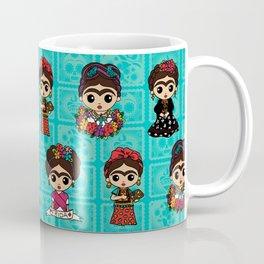 Little Fridas Coffee Mug