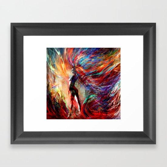free your...something Framed Art Print