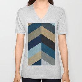 Triangular composition XX Unisex V-Neck
