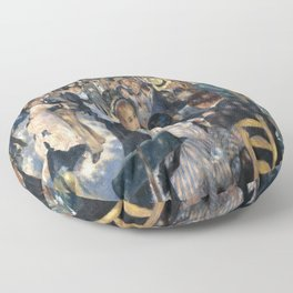 Pierre-August Renoir's Bal du moulin de la Galette Floor Pillow
