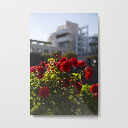 Getty Gardens Metal Print