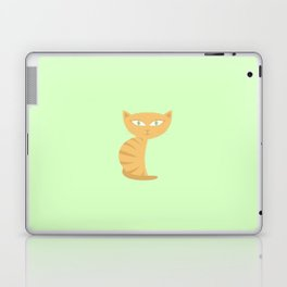 Mysterious Cat Laptop & iPad Skin