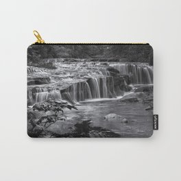 Ledge Falls, No. 4 bw Carry-All Pouch
