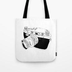 Camera Drawing Tote Bag