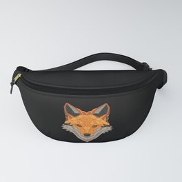 Funny Fox T-Shirt I Just Really Like polygone Fanny Pack