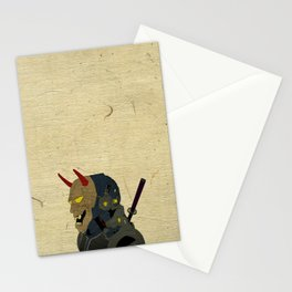 Noh Robot Stationery Cards