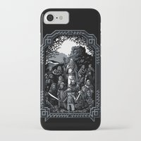 lotr iPhone & iPod Cases featuring There and Back Again by Fuacka