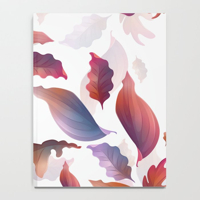 Abstract Autumn Notebook