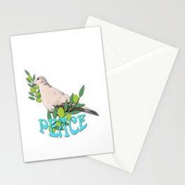 Peace Dove Stationery Cards