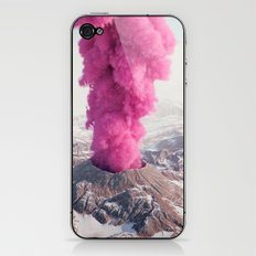 Pink Eruption iPhone & iPod Skin