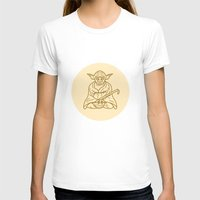 buddhism T-shirts featuring Yoda by Roland Banrevi