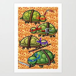 Teenage Ninja Turtles Art Print
