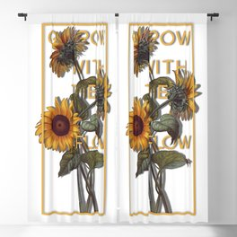 Grow With The Flow Blackout Curtain