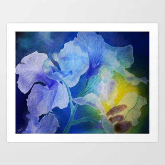Gently into the Light Art Print