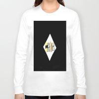 sushi Long Sleeve T-shirts featuring Sushi by CforCel