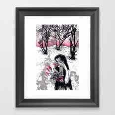 The Snow Queen  Framed Art Print