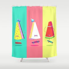 Lords of Foodtown Crew Shower Curtain