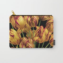 Royal Sovereign Tulips bouquet. Carry-All Pouch