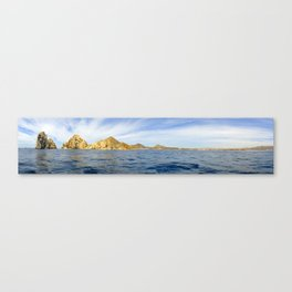 Panoramic Shot Arch Cabo Canvas Print