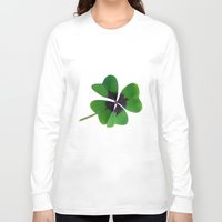 clover Long Sleeve T-shirts featuring Clover by CNBestBuy.com